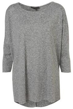Tall Fleck Oversized Top