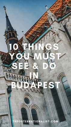 """Budapest is generally considered a """"hidden gem"""" of Europe for many travelers. While it isn't as prominent for tourism as France or London, this city is an amazing place to visit f… Budapest City, Budapest Hungary, Budapest Thermal Baths, Budapest Travel Guide, Buda Castle, Prague Travel, Most Beautiful Cities, Romanesque, Cool Places To Visit"""