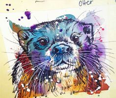 Love the watercolor!