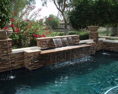 Having a pool sounds awesome especially if you are working with the best backyard pool landscaping ideas there is. How you design a proper backyard with a pool matters. You cannot just wake up and Swimming Pool Designs, Swimming Pools, Kidney Shaped Pool, Cheap Pool, Pool Landscape Design, Backyard Pool Landscaping, Backyard Ideas, Pergola, Waterfall Features