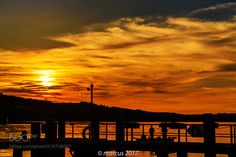 fisherboat on sunset by MarcusWendt via http://ift.tt/2tLvHnu