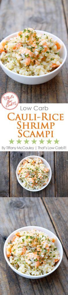 Low Carb Recipes   Shrimp Scampi Recipe   Low Carb Shrimp Scampi