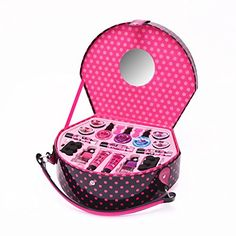 Glam Girl On The Go Beauty Case Discontinued by manufacturer *** Learn more by visiting the image link. Makeup Kit For Kids, Hello Kitty Makeup, Barbie Makeup, Beauty Case, Glam Girl, Perfect Makeup, 18 Inch Doll, Beauty Essentials, Pretend Play