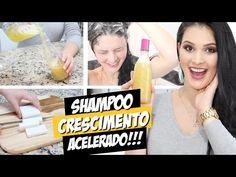 Shampoo Caseiro p/ Cabelo Crescer Sem Gastar Nada! (Crescimento Acelerado) por Julia Doorman - YouTube