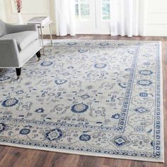 Safavieh Artisan Cassarah Power-Loomed Area Rug, Silver