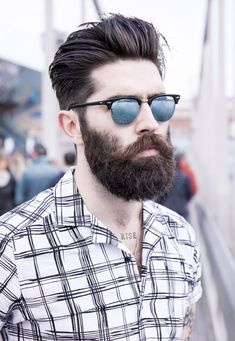 Cheap Ray Ban Sunglasses Sale, Ray Ban Outlet Online Store : - Lens Types Frame Types Collections Shop By Model Beard Styles For Men, Hair And Beard Styles, Hair Styles, Spectacle Frames For Men, Chris Millington, Trendy Haircut, Chris John, Mens Hairstyles With Beard, Spiky Hairstyles
