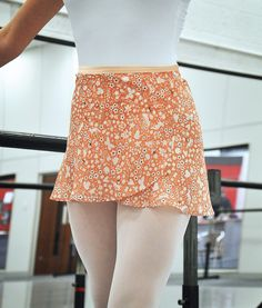 This DIY Chiffon Ballet Skirt is On Pointe | Pattern Included | Spoonflower Blog