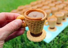 Edible Tea Cup ideas for girls birthday party