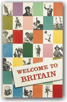 Welcome to Britain - Designer Unknwon