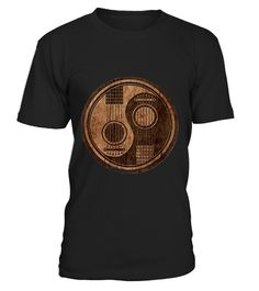 """# Guitar-Ying-Yang-Gift .  100% Printed in the U.S.A - Ship Worldwide*HOW TO ORDER?1. Select style and color2. Click """"Buy it Now""""3. Select size and quantity4. Enter shipping and billing information5. Done! Simple as that!!!Tag: guitar, Guitarist, heavy metal, hard rock, the blues, or folk music, electric guitar shirt, Acoustic"""