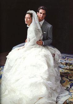 Marie Chantal Miller marries Pavlos of Greece, 1995