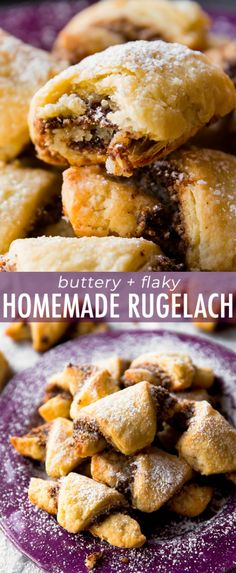 How To Make Rugelach These Pastries Have A Buttery, Flaky Crust And Are Filled With Sweet Cinnamon Walnut Filling Recipe On Rugelach Cookies, Rugelach Recipe, Baking Recipes, Cookie Recipes, Dessert Recipes, Healthy Recipes, Easy Recipes, Delicious Desserts, Yummy Food