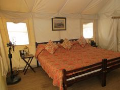 Tent Interior, Sher Bagh
