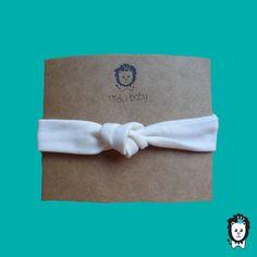 faixa turbante nózinho off white