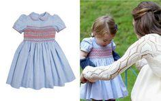La princesa Charlotte y su vestido español