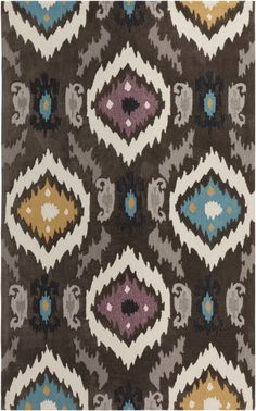 Ikat rug from Surya