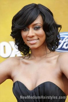 nice Bob Hairstyles for Black Women with Medium Length Hair //  #Black #Bob #for #Hairstyles