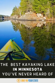 North Hegman Lake is a small lake in the Boundary Waters that is perfect for kayak novices or for experts who want a change of scenery. If you enjoy being on the water, whether its for kayaking, fishing, or other water sports, this lake is for you! Big Lake, Small Lake, Rainy Lake, Choppy Water, Lake Superior, Historical Sites, Abandoned Places, Great Places, Kayaking