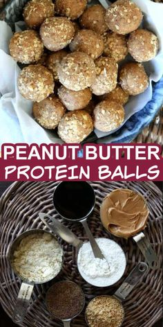 No Bake Protein Balls feature peanut butter and are an easy and healthy energy balls recipe. You can pop them in your mouth any time of the day. With only 6 ingredients, these vegan and keto protein balls can be a snack or dessert. #nobakeproteinballs #healthypeanutbutterballs #veganhighprotein #veganketo #easypeanutbutterballs #healthyproteinballs #peanutbutterproteinballs #easyproteinballs Fast Dinner Recipes, Snack Recipes, Cooking Recipes, Healthy Recipes, Healthy Sweets, Yummy Recipes, Healthy Snacks, Breakfast Recipes, Dessert Recipes