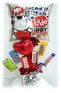 #Arreglo con #Chocolates #Aniversario #Cowco!! www.globocentro.com.gt
