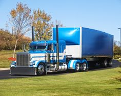 Peterbilt, clean and mean