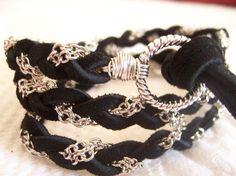 Ribbon & chain Bracelets