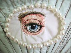 Tara Badcock-Our Lady of Arcadia; Venus 2011 eye close up by Tara Badcock, via Flickr