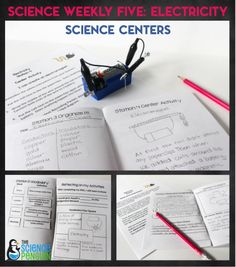 Learn more about using Science Weekly Five centers in your classroom!  Great for 3rd and 4th! $
