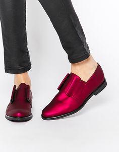 Miista+Fiona+Lace+Up+Flat+Shoes