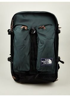 The North Face Men's Green Heritage Crevasse Backpack