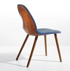 Chair from the Museum of Modern Art 'Organic Design Competition 1941', Manufactured by Haskelite Corporation/Heywood-Wakefield, Designed by Charles Eames and Eero Saarinen, 1940