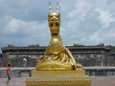Golden Dragons and Jacket Vampires in Hue Vietnam