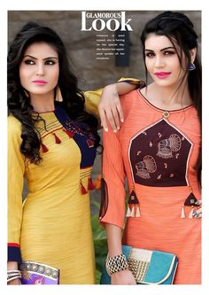 New stylish and trendy kurti neck designs - ArtsyCraftsyDad Neck Designs For Suits, Kurti Neck Designs, Dress Neck Designs, Kurti Designs Party Wear, Blouse Designs, Trendy Kurti, New Kurti, Kurta Style, Long Kurtis