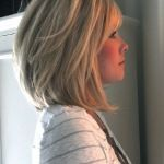 Mid Length Stacked Bob for Women 50 or Over