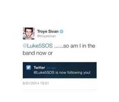 Love Troye Sivan though....