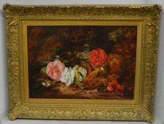 Mary-Vernon-19th-Century-Still-Life-of-Roses-Signed-Original