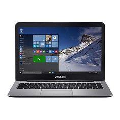 ASUS VivoBook E403SA-US21 14-inch Full HD Laptop (Intel Quad-Core N3700 Processor 4 GB DDR3 RAM 128GB eMMC Storage Windows 10 Home OS) Metallic Gray