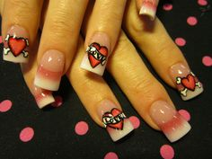 Floras tips nail art gallery by nailsmag nailart nail art from the nails magazine nail art gallery hand painted prinsesfo Images