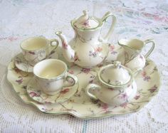 Vintage Regal Porcelain Miniature Tea/Coffee by TheWhistlingMan, £18.00