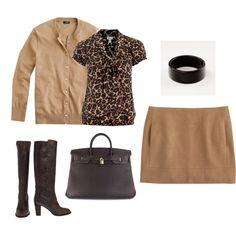 Camel Skirt, created by cocodaisy.polyvore.com