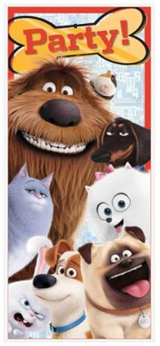 Secret Life Of Pets Scene Setter Birthday Party Wall Or Door Poster Decoration