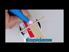 Como Fazer Uma Caneta de Luz UV Para Colagem Rápida - YouTube