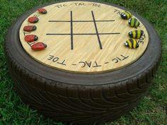 Resultado de imagem para reutilização de pneus na jardinagem