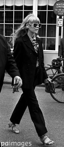 Marianne Faithfull, who wept after two members of the Rolling Stones were sentenced on drugs charges, 29th June 1967