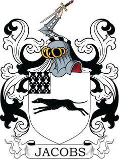 Jacobs Family Crest and Coat of Arms