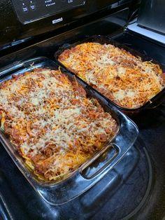 Speggetti Recipes, Hotdish Recipes, Beef Casserole Recipes, Egg Free Recipes, Cooking Recipes, Pasta Recipes, Italian Recipes, Dinner Recipes