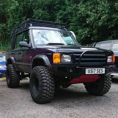 Land Rover Discovery Off Road, Discovery 2, Off Road Adventure, Roll Cage, Land Rovers, Dream Garage, Land Rover Defender, Cool Trucks, Range Rover
