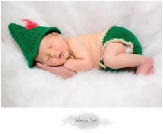 Peter Pan Inspired Hat & Diaper cover set by StitchesByCath, $25.00