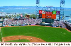 10 Totally 'Out Of The Park' Ideas For A MLB Tailgate Party | #ebayguides