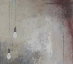 artist using concrete as mixed media - Google Search